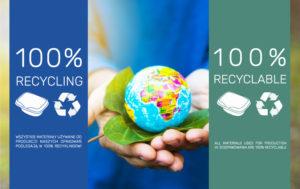 Ekologiczne opakowania z recyklingu